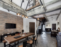 Industrial style renovation projects