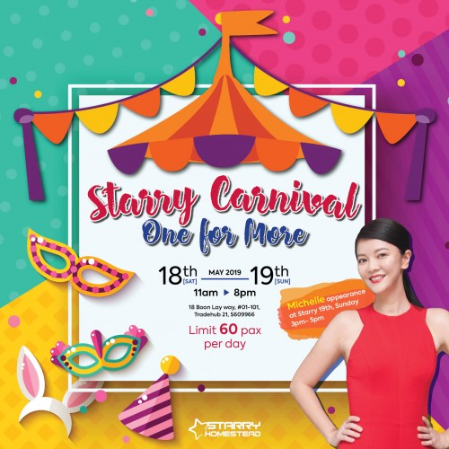 Starry Carnival: One for More image
