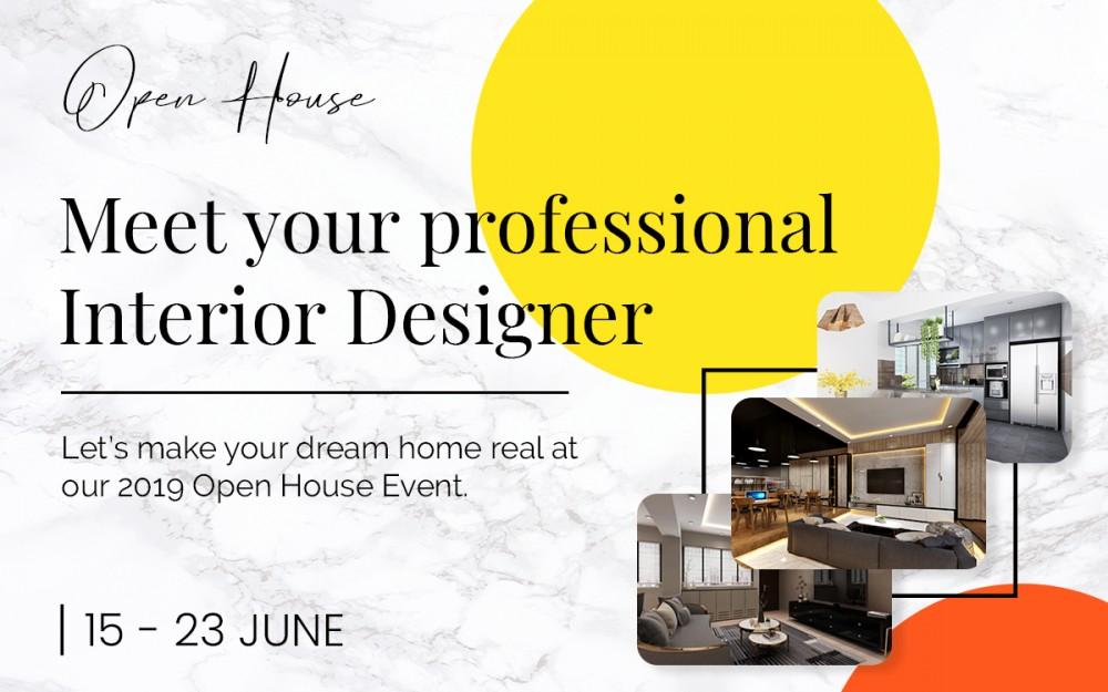 Event cover - Invitation to Omni Design's Open House 2019
