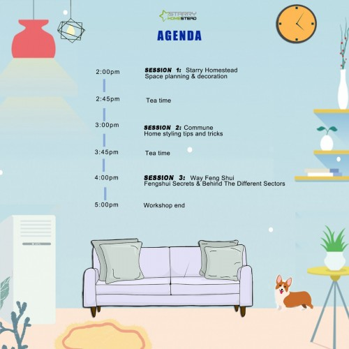 Starry Carnival: Small space big planning by Starry Homestead Pte Ltd