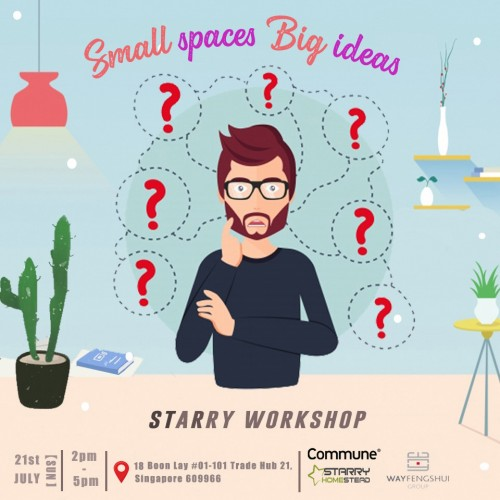 Starry Carnival: Small space big planning image