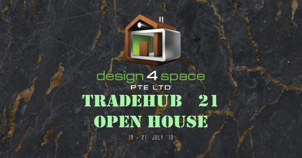 Event cover - DESIGN 4 SPACE TRADEHUB 21 OPEN HOUSE