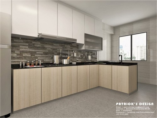 Kitchen Promotion - $800 Worth of Table TOP Free upgrade!!! by Patrick's Interior Dezign Pte Ltd