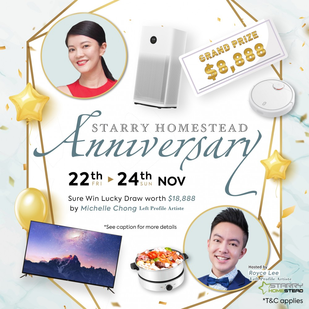 Event cover - Starry Homestead: Nov Anniversary