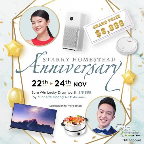 Starry Homestead: Nov Anniversary image