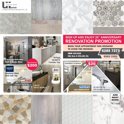 Last Weekend! 20th Anniversary Renovation Promotion! image