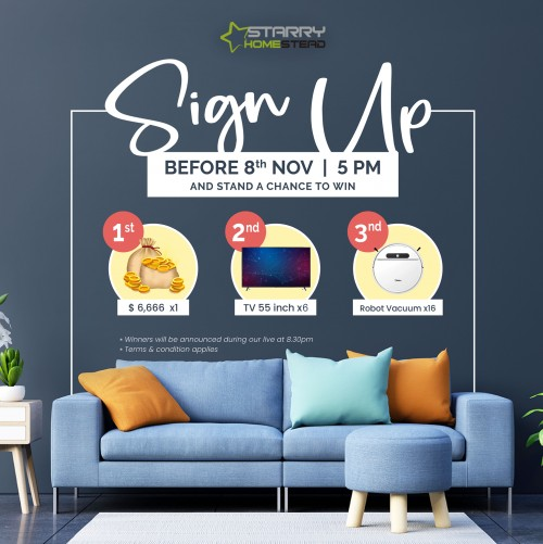 Starry Anniversary by Starry Homestead Pte Ltd