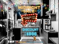 1st Midnite Sales for 2021 by WHST Design