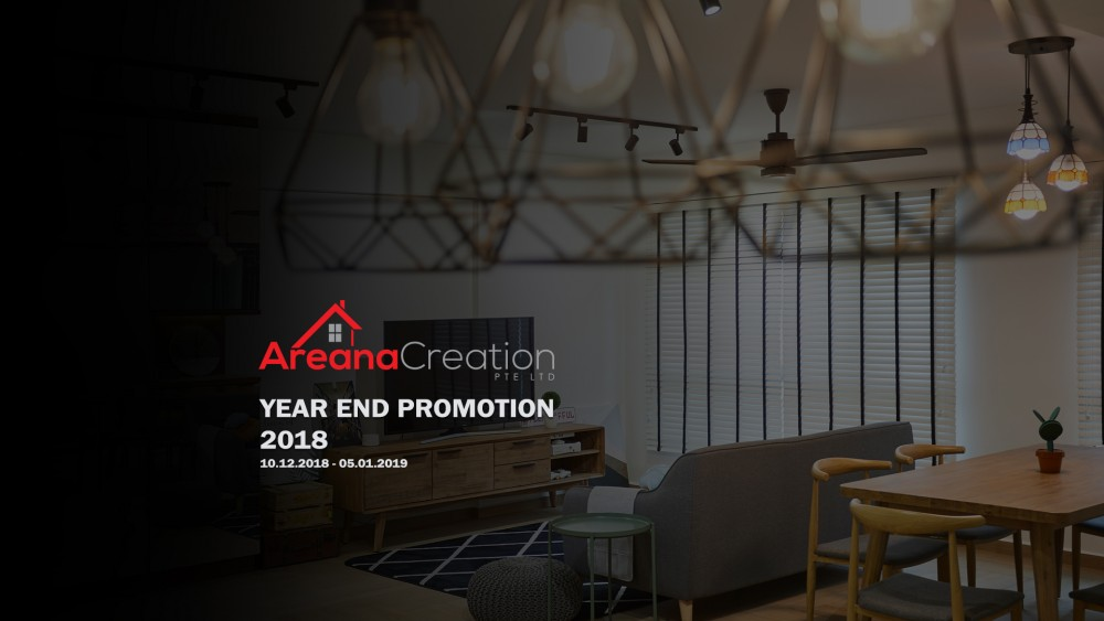 Event cover - Areana Creation Year End Promotion