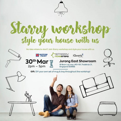 Starry Homestead Workshop: Style your house with us image