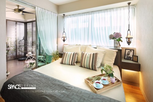Contemporary New Condominium by Space Define Interior