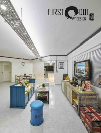 Eclectic Resale 4-Room HDB by First Dot Design Pte Ltd