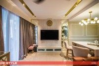 Asian New Condominium by De Style Interior Pte Ltd