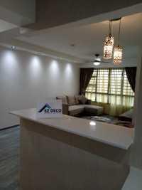 Asian New 4-Room HDB by EZ DECO