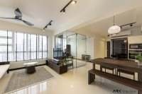 Industrial New 4-Room HDB by ARK-HITECTURE