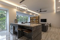 Contemporary New Executive HDB by ARK-HITECTURE