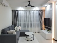 Contemporary New 4-Room HDB by M2 DECOR Pte Ltd