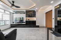 Modern New 4-Room HDB by NID Design Group Pte Ltd