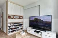 Scandinavian New 4-Room HDB by Inclover Design