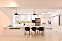 Contemporary New 5-Room HDB by Van Hus Interior Design Pte Ltd