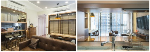 Photo of A modern chic inspired by manhattan style at San Ritz Condo