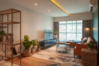 Transitional Resale 4-Room HDB by The Makers Design Studio