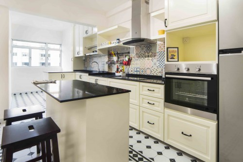 Eclectic Resale 3-Room HDB by Cozy Ideas