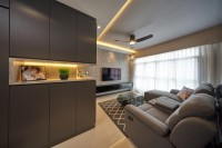 Modern New 4-Room HDB by Aritz Design & Construction