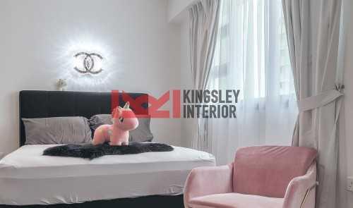Modern New 4-Room HDB by Kingsley Interior Pte Ltd
