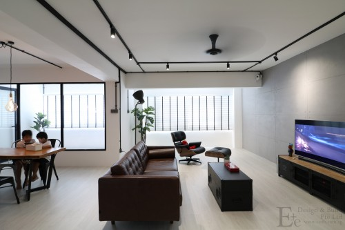 Industrial Resale Executive HDB by E+e Design & Build
