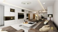 Contemporary Resale Condominium by Goodman Interior