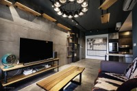 Industrial New Condominium by Lemonfridge Studio