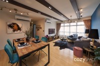 Eclectic New 4-Room HDB by Cozyspace