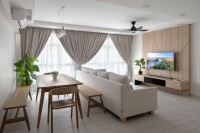 Scandinavian New 5-Room HDB by Ritchie Creative Design