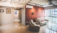 Industrial Resale 4-Room HDB by Archisthetic Interior