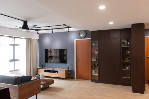 Modern New 5-Room HDB by Archisthetic Interior