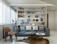 Modern New 3-Room HDB by Divine & Glitz Design