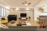 Minimalist Resale 4-Room HDB by The Creative Studioz