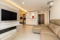 Modern New 5-Room HDB by NID Design Group Pte Ltd