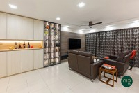 Asian New 5-Room HDB by Noble Interior Design