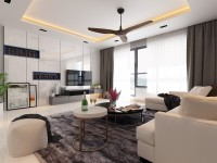 Modern Resale 4-Room HDB by Eight Design Pte Ltd
