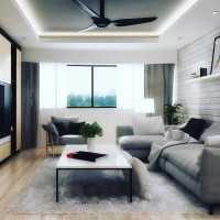 Contemporary Resale Condominium by Design Avenue