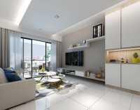 Contemporary New Condominium by Liven Space Interior Design