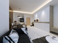 Contemporary New Condominium by Liven Space Interior Design