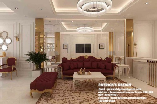 Modern New Commercial by Patrick's Interior Dezign Pte Ltd