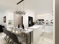 Contemporary New 4-Room HDB by ACE Interior Design