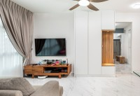 Minimalist New 4-Room HDB by AP Concept