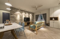 Country New 4-Room HDB by 13th Design Studio Pte Ltd