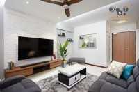 Minimalist New 4-Room HDB by Dots 'N' Tots Interior Pte Ltd