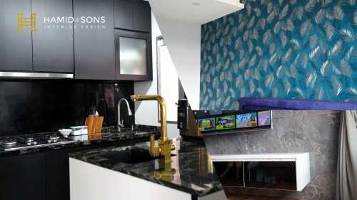 Modern New 4-Room HDB by Hamid & Sons Interior Design